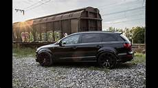 tuning black audi q7 turbo s line peformance