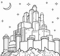 printable castle coloring pages for