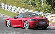 Porsche Boxster Gts - undisguised porsche 718 boxster gts shows up at the ring