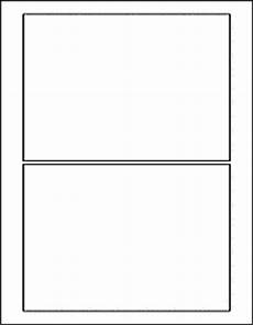 5x7 blank card template label templates ol2124 7 quot x 5 quot labels
