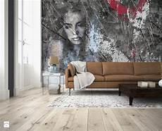 tappezzeria da parete effetto cemento soggiorno grande con sof 224 con carta da