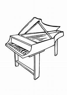 Gratis Malvorlagen Klavier Ausmalbilder Piano Musik Malvorlagen