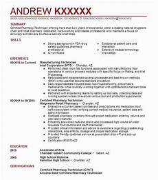 manufacturing technician objectives resume objective