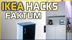 ikea küche hack ikea hacks hackers faktum k 252 chenschrank mal anders