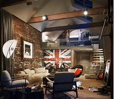 Style Loft In The Interior Home Interior And Furniture Ideas