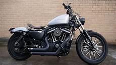 Harley Davidson Iron 883 Custom Silver 2010