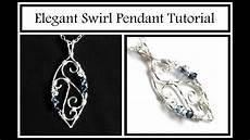 Jewelry Tutorial Swirl Pendant Part 1 Wire