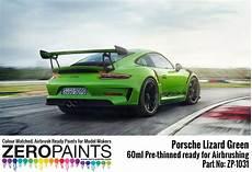 porsche gt3 rs kaufen porsche 911 gt3 rs lizard green paint 60ml zp 1031