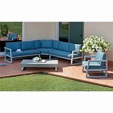 salon jardin aluminium salon de jardin en aluminium gris compos 233 de 1 fauteuil