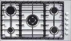 piano cottura 85 cm barazza 1pof90 piano cottura incasso e filo da 90 cm 4 gas