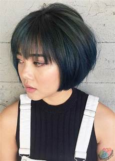 55 incredible short bob hairstyles haircuts with bangs