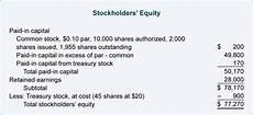 مدونة محاسب مصري stockholders equity