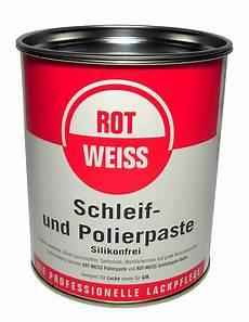 rot weiss polierpaste rotweiss schleif und polierpaste 750 ml werkstatt store