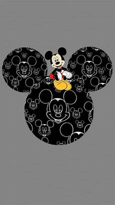 Lock Screen Black Mickey Mouse Wallpaper