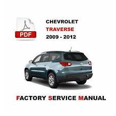 manual cars for sale 2011 chevrolet traverse seat position control service repair manuals for chevrolet traverse for sale ebay