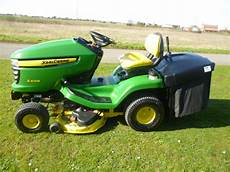 sold deere x305r lawn tractor fan collecto for