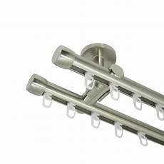 gardinenstange deckenbefestigung innenlauf gardinenstange 20 mm mit endkappen zweil 228 ufig