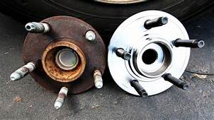 How To Replace A Front Wheel Bearing  YouTube