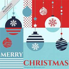 merry christmas background with geometric shapes vector free download