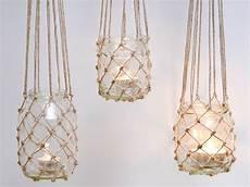 windlichter im orient look selber windlicht im fischernetz look so gelingt auch dir der