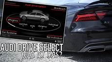 audi drive select audi drive select erkl 228 rung subtitles