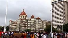 mumbai gateway of india taj hotel in rains hd youtube
