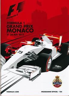 formula 1 2015 monaco grand prix program programme