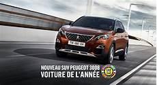 publicité voiture 2017 suv 3008 elu voiture de l annee 2017 peugeot coulommiers