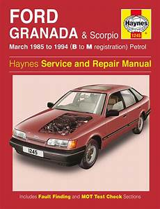 car repair manuals online free 1985 ford e series electronic toll collection haynes manual ford granada scorpio petrol mar 1985 1994