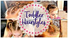 quick easy toddler hairstyles to keep hair out of face youtube