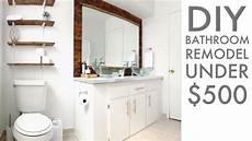 remodeling a bathroom for 500 diy how to