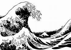 Japanisches Bild Welle - items similar to japanese design the great wave