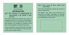 Municipale Avis D Information De Contravention