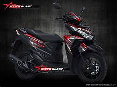 Striping Vario 125 Modif by Modifikasi Striping Honda Vario 150 Esp Black Matte