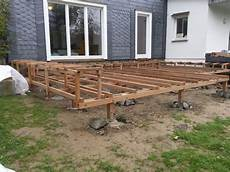 Bauanleitung Holzterrasse Holz Jaeger Haus Garten