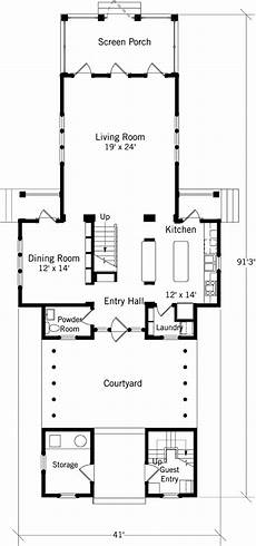 dogtrot house plans southern living dockside dogtrot coastal living southern living house