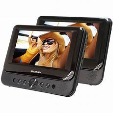 portabler dvd player auto headrest tv car dvd player for car seat portable cd dual