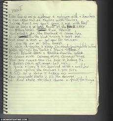 Unreleased Tupac Shakur Written Notes And