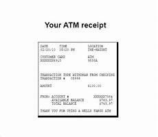 electronic receipt template 9 free sle exle