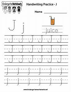 alphabet handwriting worksheets uk 21603 letter j writing practice worksheet with images writing practice worksheets writing