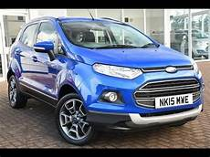 used ford ecosport 1 5 tdci titanium 5dr x pack kinetic