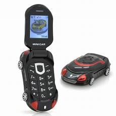Mobile Phone Car mini car small sports car shaped mobile phone for