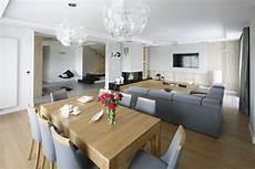 salon z jadalnią jak urządzić jadalnię na granicy kuchni i salonu 25 zdjęć