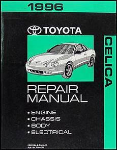 automotive service manuals 1996 toyota celica auto manual search