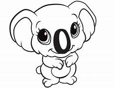 easy animals coloring pages 16976 simple koala drawing at getdrawings free