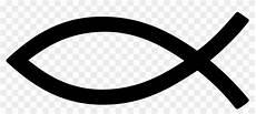 black christian fish symbol jesus fish png free