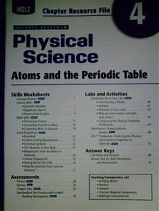 holt physical science textbook worksheets 13118 holt science spectrum physical science chapter resource file 5 p 0030415748 24 95 k 12