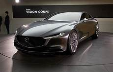 Mazda Embraces Minimalism With Vision Coupe Concept