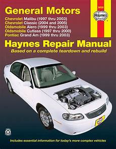 old car manuals online 1997 oldsmobile cutlass parking system gm classic alero cutlass grand am haynes