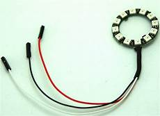 led ring 12 rgb led ring for arduino vorpal robotics store